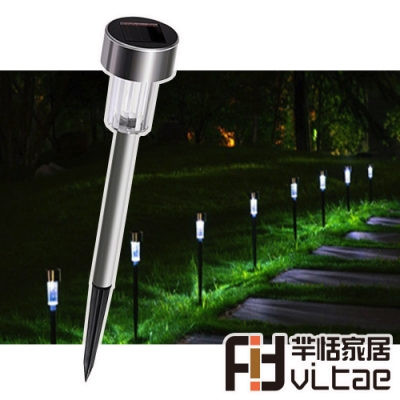 Fit Vitae羋恬家居 太陽能自動光控草坪造景插地燈(2入組)