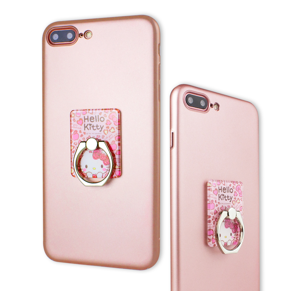 iStyle iPhone 7/8 p 5.5吋 HelloKitty 粉色魅力支架手機殼 @ Y!購物