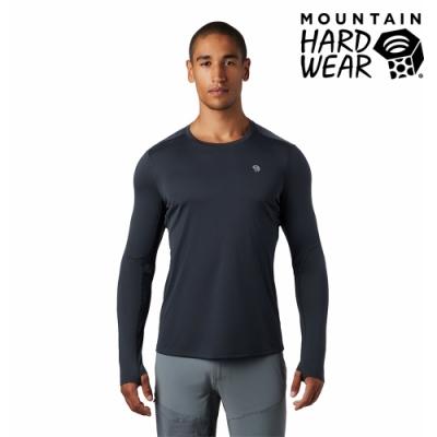 【美國 Mountain Hardwear】Wicked Tech Long Sleeve T-Shirt 防曬快乾長袖排汗衣 男款 深風暴灰 #1891111