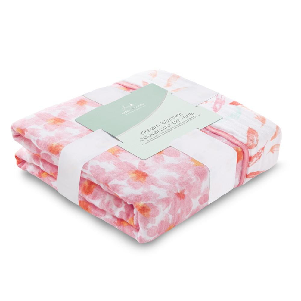 美國aden+anais嬰幼兒被毯-盛開花朵系列AA6135 @ Y!購物