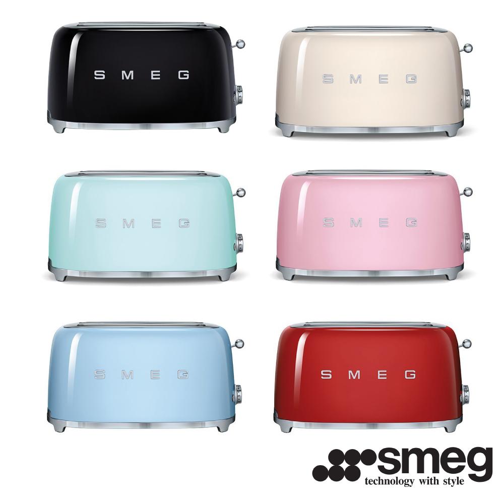 義大利SMEG  四片式烤麵包機 TSF02