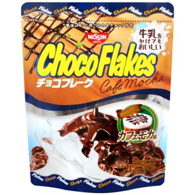 Nissin 巧克力風味玉米片-摩卡(63g)