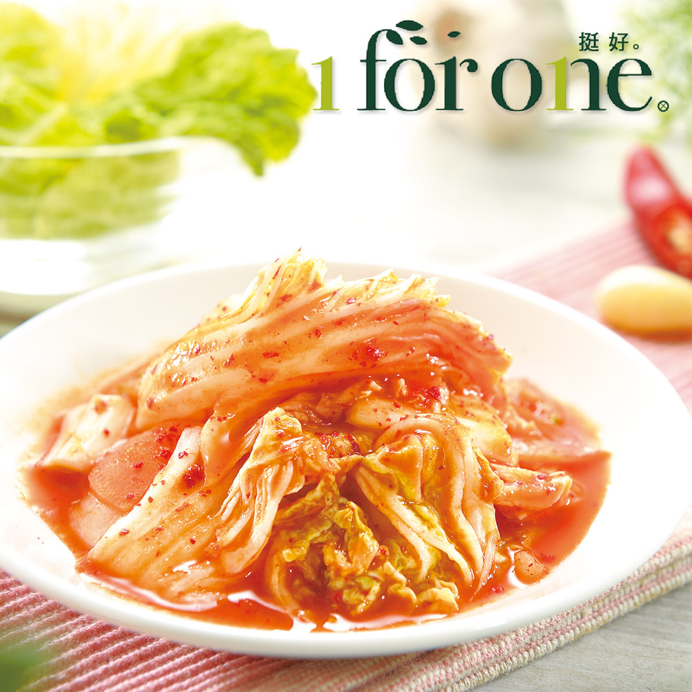1 for one 果味泡菜(500g/盒,共2盒)
