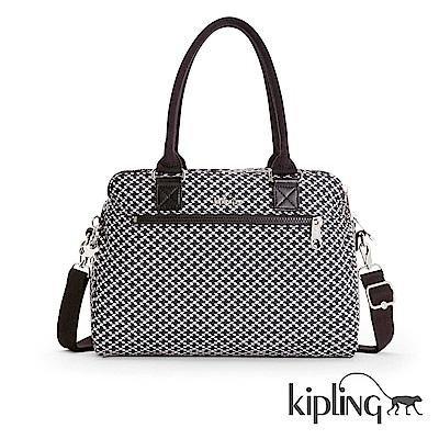 Kipling 手提包 簡約菱格-大
