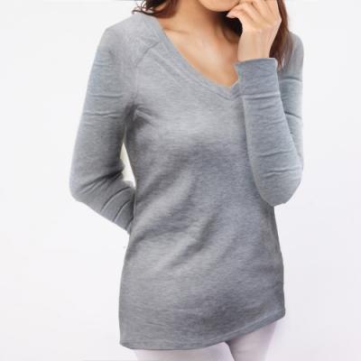 TiNyHouse TU-HH-201排汗內層保暖衣 女V領