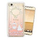 HTC One X9 奧地利水晶彩繪空壓手機殼(精靈捧花)
