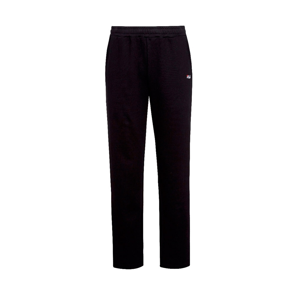 FILA 男針織長褲-黑色 1PNT-5451-BK