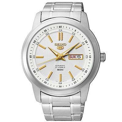 SEIKO 5號SPORTS運動時尚機械腕錶SNKM85J1/7S26-03Z0G