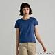 GIORDANO 女裝素色圓領短袖T恤 - 44 愛國者藍 product thumbnail 1