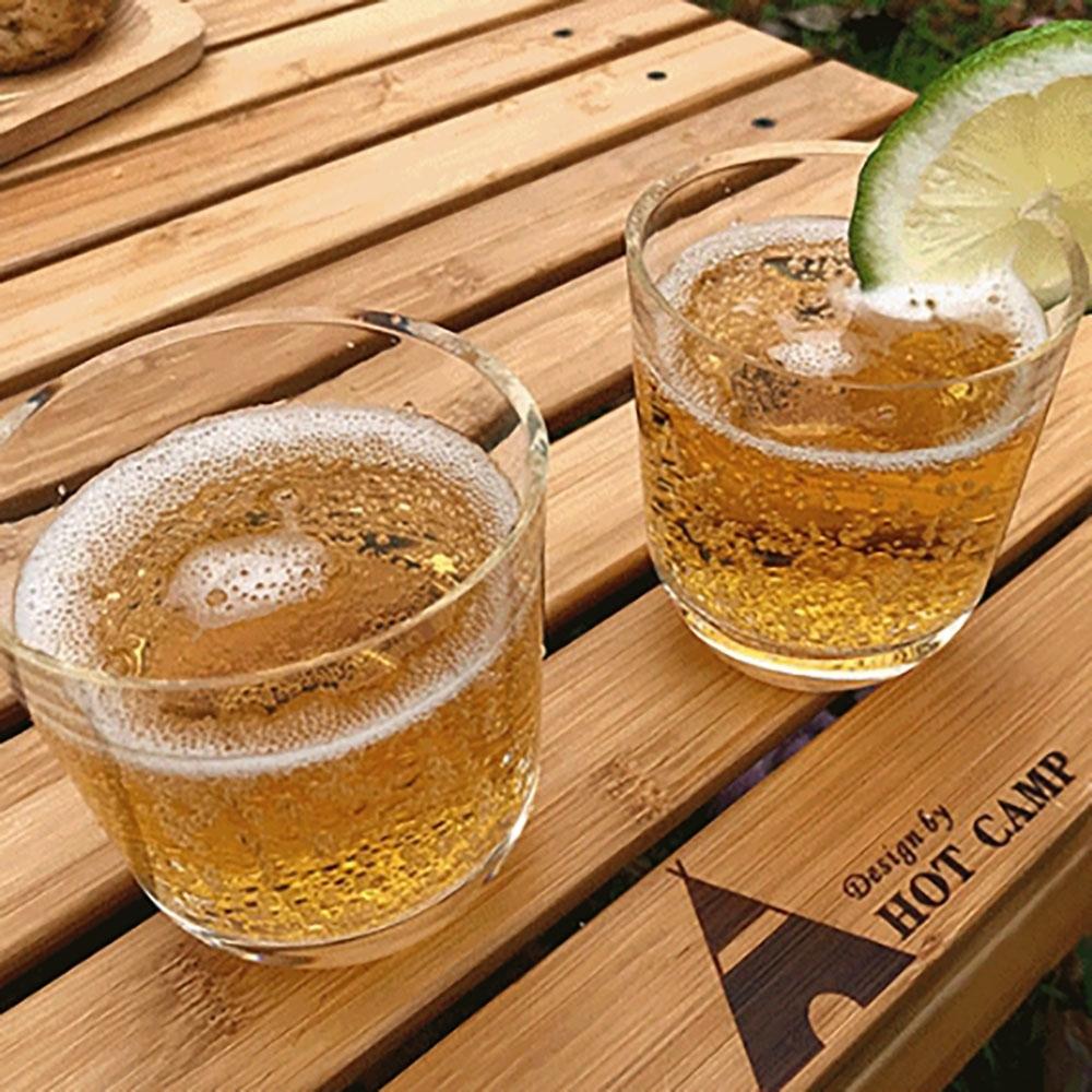 KZM-HOT CAMP 矽膠威士忌酒杯240ml