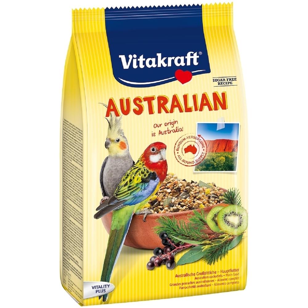 德國Vitakraft Vita-中型長尾鸚鵡-澳洲鸚鵡總匯美食系列(21644) 750g 兩包組 (效期:2021/02)