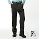 【Lynx Golf】男款彈性舒適類條絨素面雙折休閒長褲-卡其色 product thumbnail 2