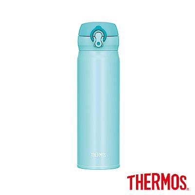 THERMOS膳魔師不鏽鋼真空保溫瓶<b>0</b>.<b>5</b>(JNL-503)-PMT(粉嫩綠)