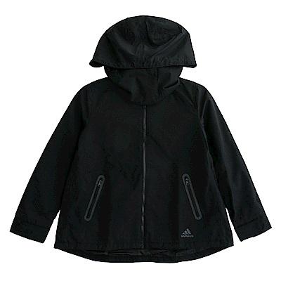 Adidas FEM JKT WV-連帽外套-女