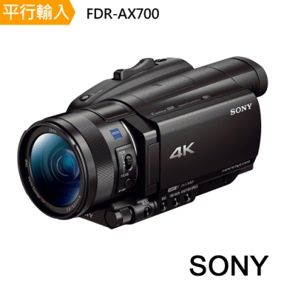 SONY 索尼 FDR-AX700 4K數位運動攝影機 中文平輸