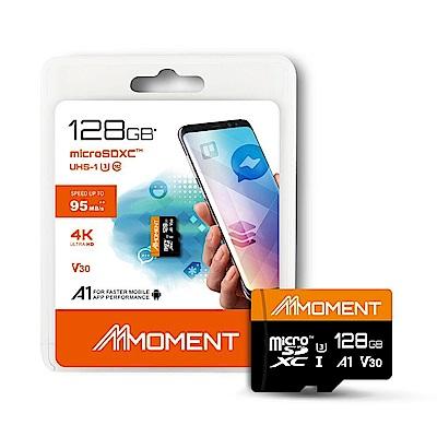 【MOMENT】128GB MicroSDXC UHS-I U3 A1 V30 4K記憶卡
