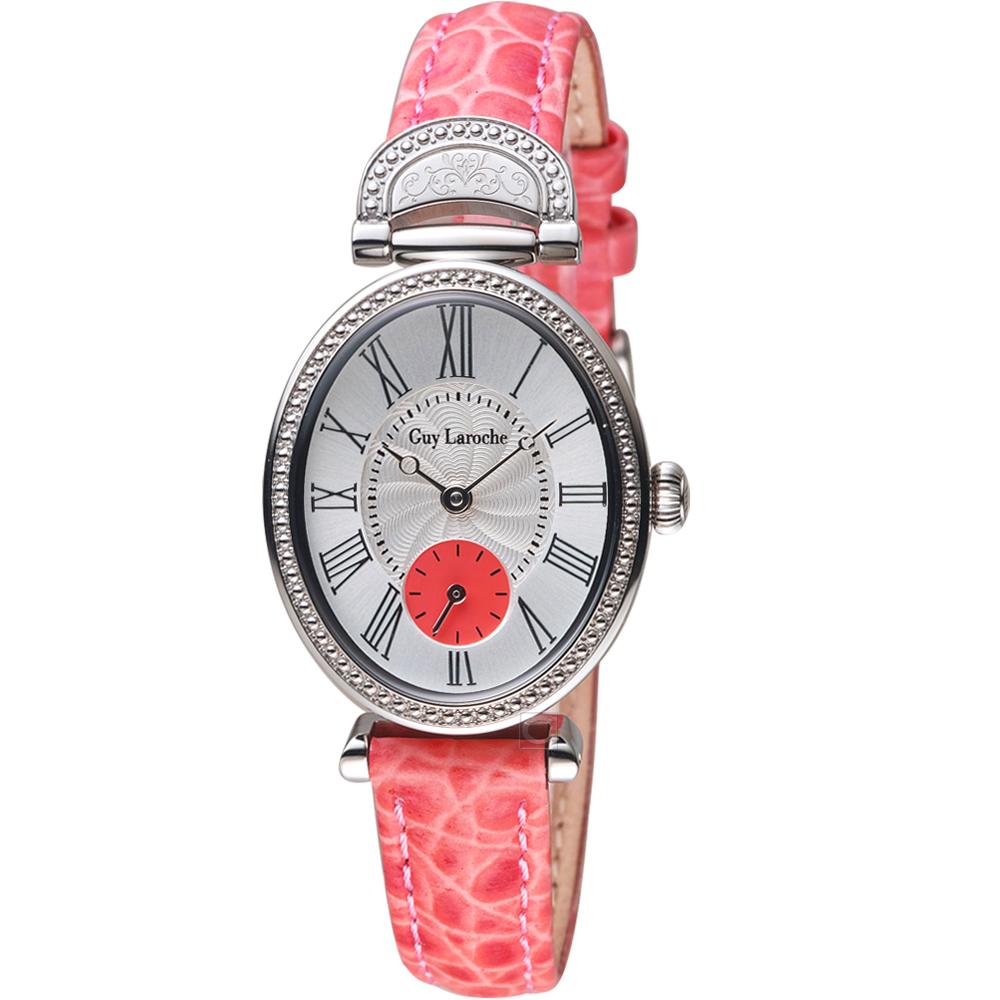 姬龍雪Guy Laroche Timepieces古典羅馬時尚錶(LW5030-09)