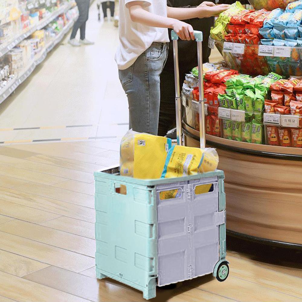 (出清售完不補)巨無霸萬用折疊收納車-中型加蓋(5款) lemonsolo [限時下殺] product image 1