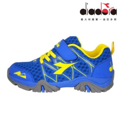 Diadora 兒童戶外水陸鞋 中童 超寬楦 藍 DA9AKO7196