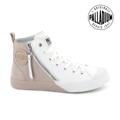 Palladium PALLAPHOENIX Z 2TONE皮革鞋-女-白/粉