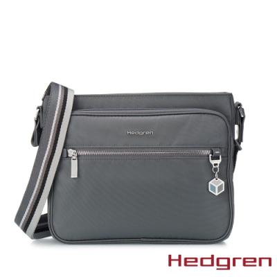 【Hedgren】CHARM典藏 側背方包-鐵灰(M)