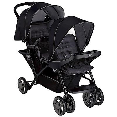 【麗嬰房】Graco 雙人前後座嬰兒手推車 Stadium Duo系列(探險黑)