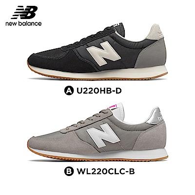 New Balance _復古鞋_黑色(中性)/淺灰(女性)