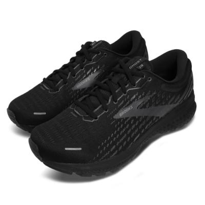 Brooks 慢跑鞋 Ghost 13 4E 超寬楦 運動 男鞋  路跑 緩震 DNA科技 透氣 舒適 黑 灰 1103484E072