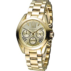 Michael Kors漫步羅馬三眼計時腕錶(MK5798)