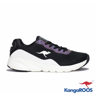 KANGAROOS RUN SWIFT 科技幻彩跑鞋(黑/白)