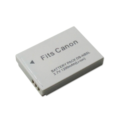 WELLY Canon NB-5L/NB5L/NB-5LH 高容量防爆相機鋰電池