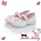 HelloKitty童鞋 蕾絲輕量減壓抗菌防臭室內外娃娃鞋-白