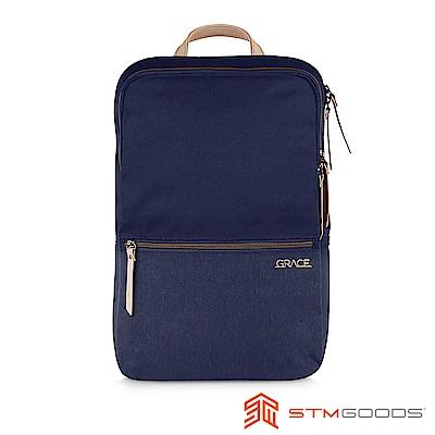 STM Grace Pack 15吋 優雅時尚筆電後背包 (深夜藍)