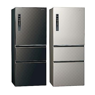 [無卡分期12期]Panasonic國際牌 三門 變頻 電冰箱 NR-C509HV