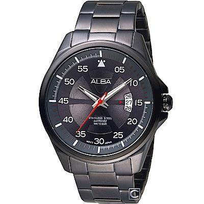 ALBA 雅柏 活力街頭時尚腕錶(AS9H41X1)44mm