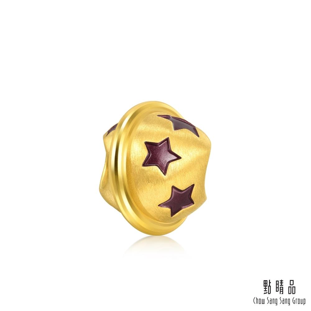 (送5%超贈點)點睛品 999純金 Charme 戀愛星球 黃金串珠