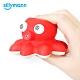 【韓國sillymann】 100%鉑金矽膠小章魚洗澡玩具 product thumbnail 1