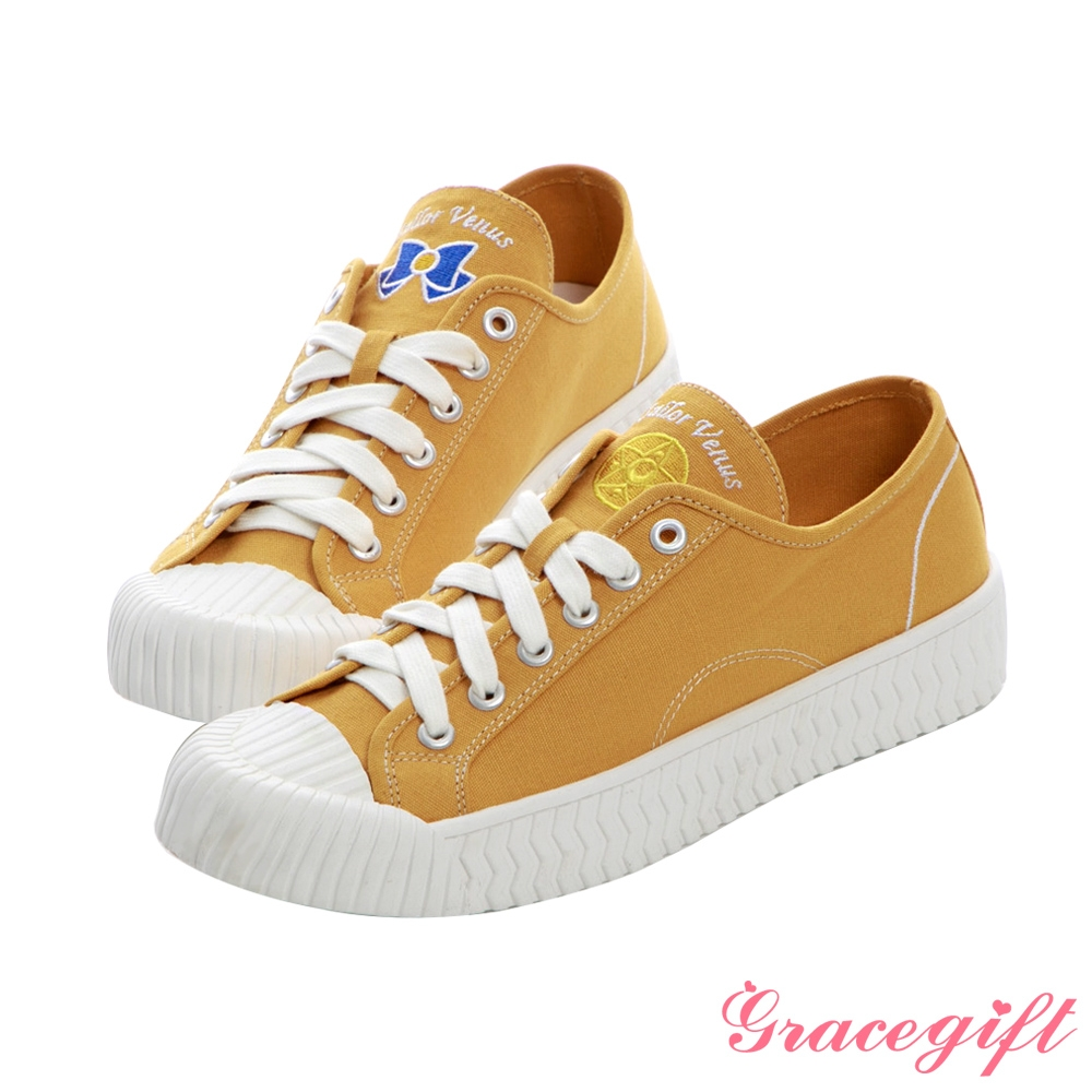 Grace gift-美少女戰士金星帆布餅乾鞋 黃