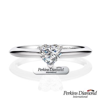 PERKINS 伯金仕 - GIA 心形車工 0.30克拉鑽石戒指