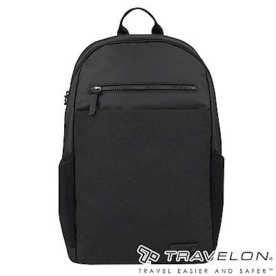 Travelon美國防盜包 METRO商務休閒旅遊後背包TL-43412黑