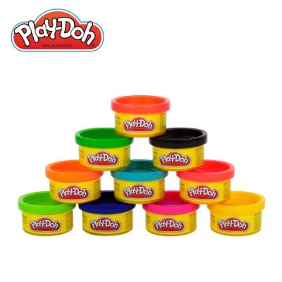 Play-Doh 培樂多-10色派對組合罐 無毒黏土 創意DIY