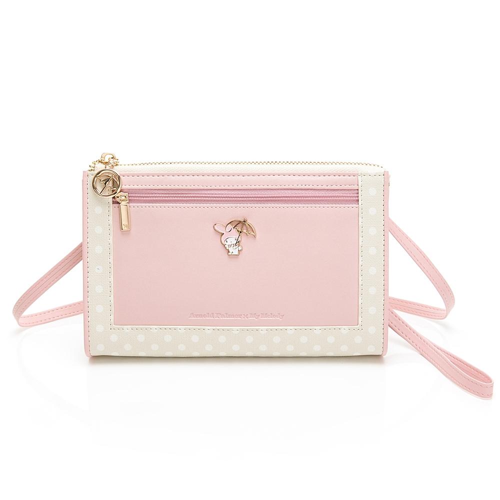 Melody聯名- 萬用包附手挽帶/長背帶 泡泡派對系列-粉色