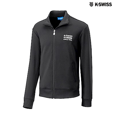 K-Swiss Retro Jacket運動外套-女-黑