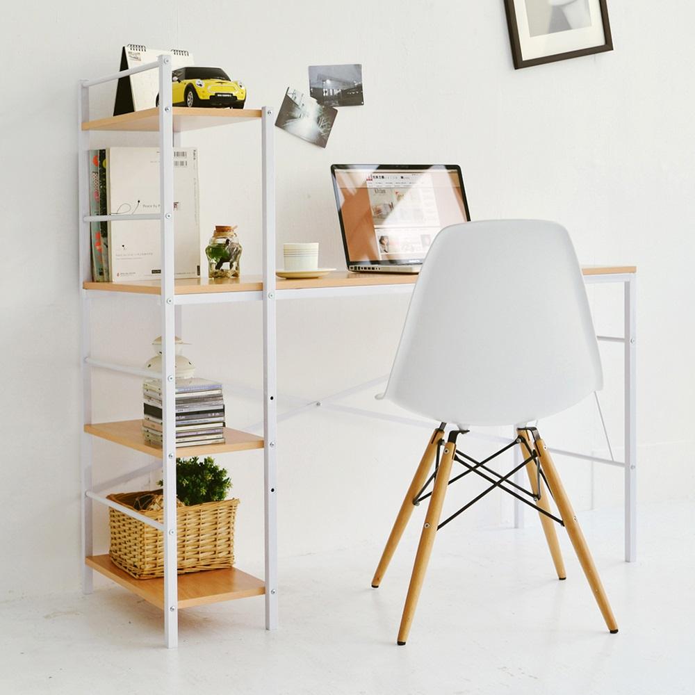完美主義 日系層架工作桌/電腦桌/書桌(2色)-120x52x115.5cm product image 1