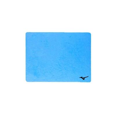 MIZUNO SWIM 日製吸水巾-一只入 浴巾 毛巾 游泳 戲水 美津濃 N2JY801000-27 寶藍