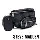STEVE MADDEN-BREVERSE 時尚款 素面母子個性腰包-迷彩黑 product thumbnail 1
