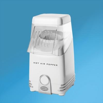 美國Nostalgia熱風式爆米花機-白色HAP8WT