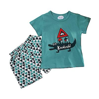 男童短袖清涼套裝 k51103 魔法Baby