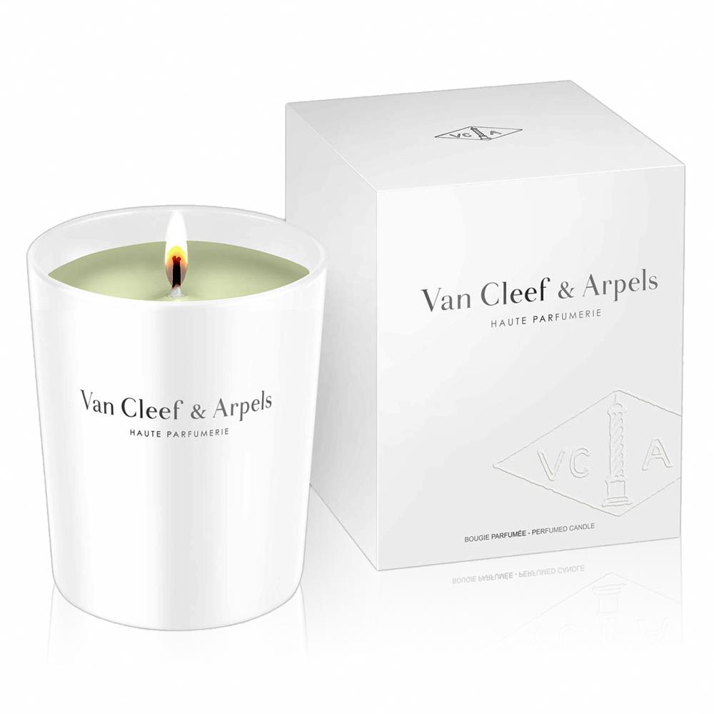 *van cleef & arpels 梵克雅寶蘭花香草香氛蠟燭 140g