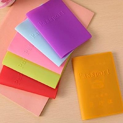 RAIN DEER 糖果色矽膠護照夾輕旅行系列-2入
